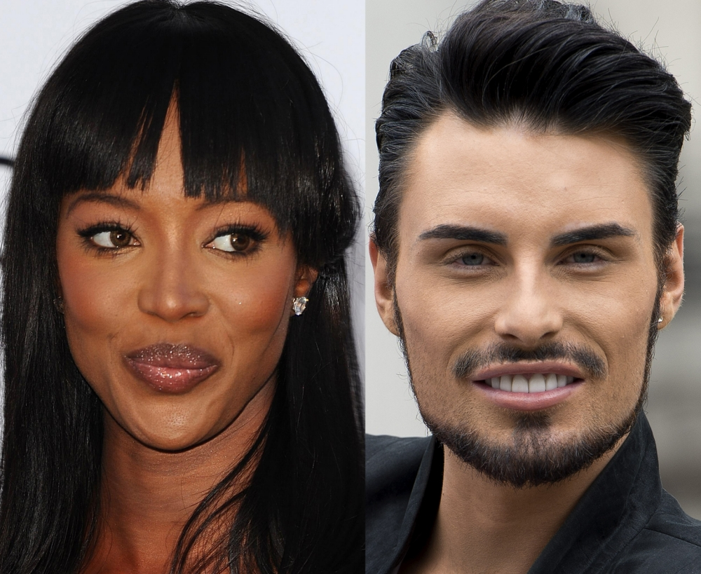 Face Off: Who's more fierce? Big Brother's Bit On The Side Rylan Clark and The Face star Naomi Campbell battle it out