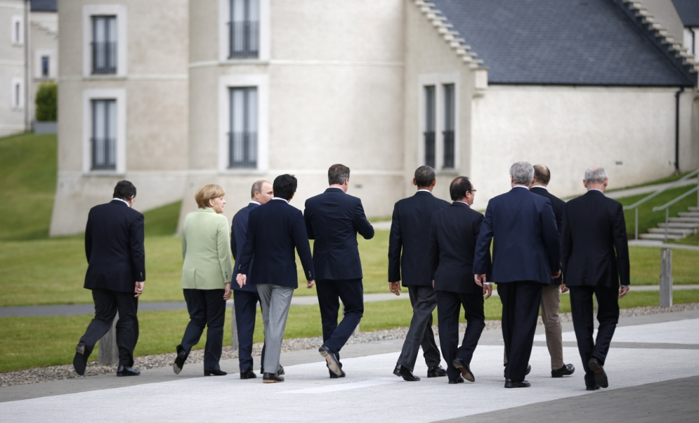 G8 leaders agree to 'stamp out' ransom payments to terrorists