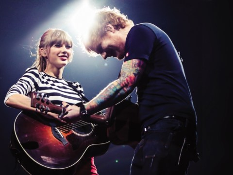 Ed Sheeran admits he loves Taylor Swift's 'British sense of humour' as he helps her 'make up with Harry Styles'