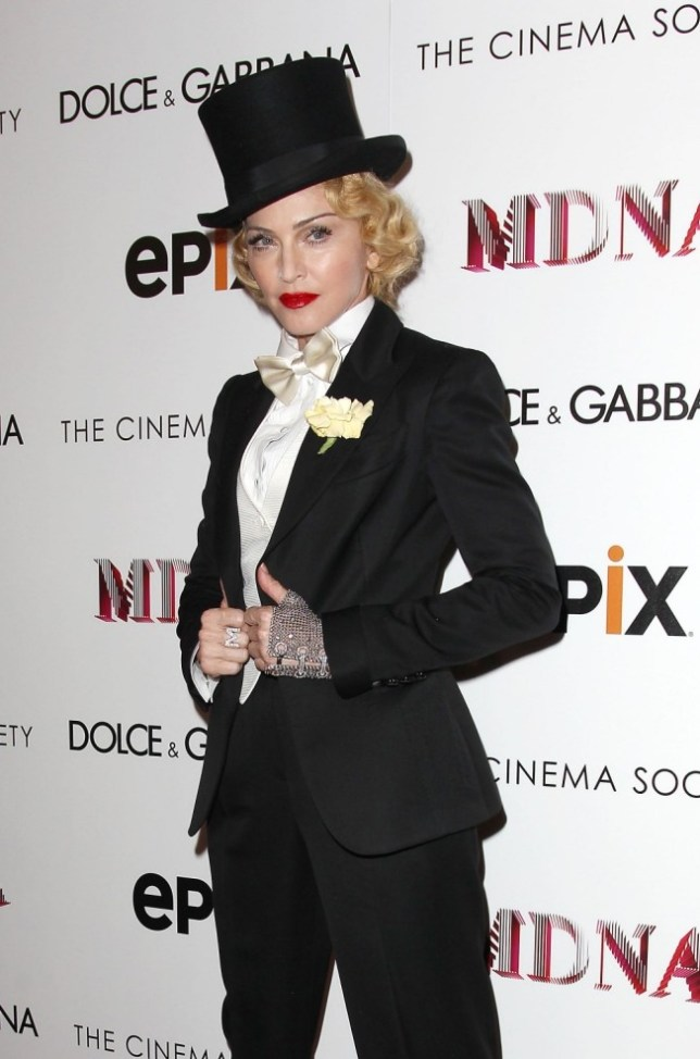 Mandatory Credit: Photo by Startraks Photo / Rex Features (2589572i)  Madonna  'Madonna: The MDNA Tour' Cinema Society World Premiere, New York, America - 18 Jun 2013