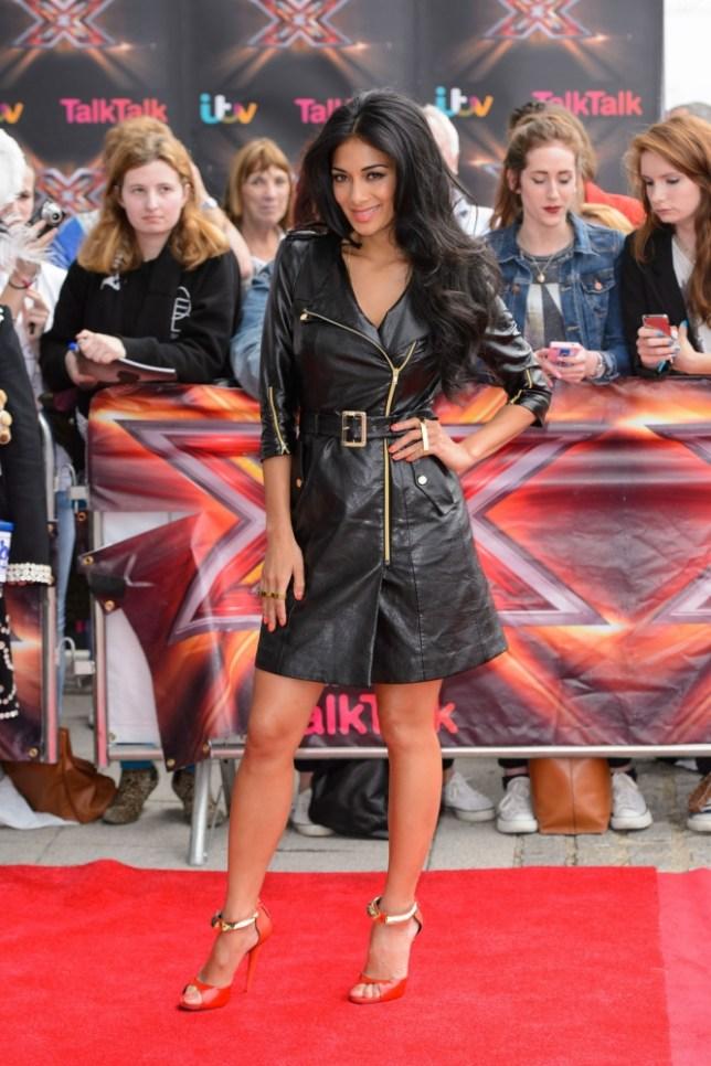 Nicole Scherzinger sexes up London X Factor auditions