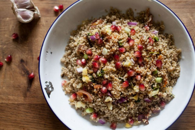 Quinoa - pronounced keen-wa, if you didn't know - is a pseudo-grain from South America (Picture: Oli Jones)