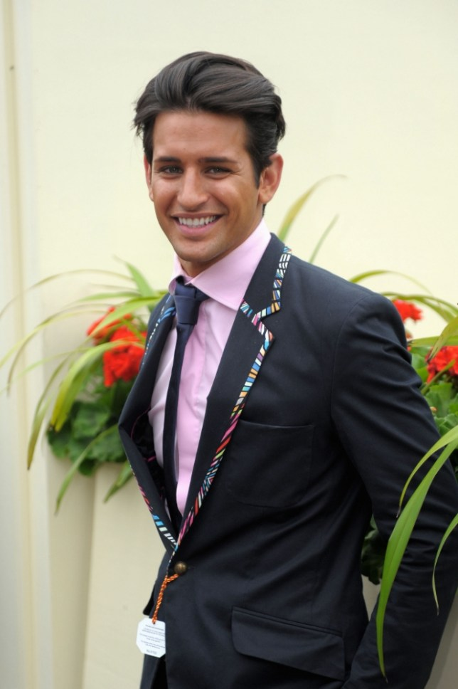 Made in Chelsea star Ollie Locke arrives for day three of the Royal Ascot meeting at Ascot Racecourse, Berkshire. PRESS ASSOCIATION Photo. Picture date: Thursday June 20, 2013. See PA story RACING Ascot. Photo credit should read: Tim Ireland/PA Wire