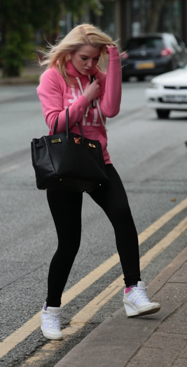 20 June 2013 - CHESHIRE - UK  EX CORRIE AND NOW WAG HELEN FLANAGAN SPOTTED LEAVING A HAIRDRESSERS IN CHESHIRE BYLINE MUST READ : XPOSUREPHOTOS.COM  ***UK CLIENTS - PICTURES CONTAINING CHILDREN PLEASE PIXELATE FACE PRIOR TO PUBLICATION ***  **UK AND USA CLIENTS MUST CALL PRIOR TO TV OR ONLINE USAGE PLEASE TELEPHONE  44 (0) 208 370 0291 or 1 310 600 4723