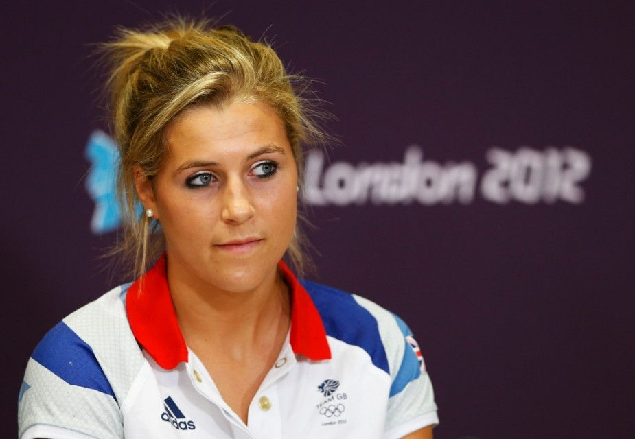 LONDON, ENGLAND - JULY 25:  Georgie Twigg of Great Britain looks on during a British Olympic Association Hockey Press Conference ahead of the London 2012 Olympics at the Olympic Park on July 25, 2012 in London, England.  (Photo by Streeter Lecka/Getty Images)