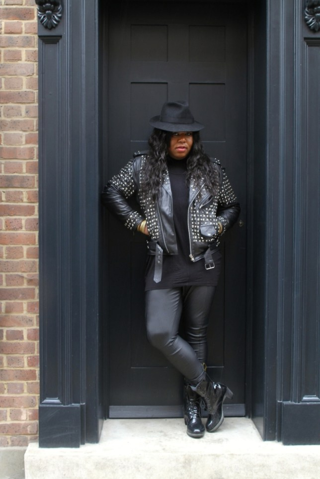 Richard Shoyemi has dressed Ms Dynamite and Kelis (Picture: Elliot Simpson)