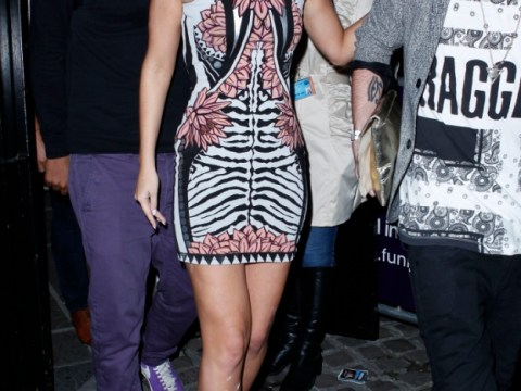 Tulisa Contostavlos worse for wear on first night out since drugs arrest