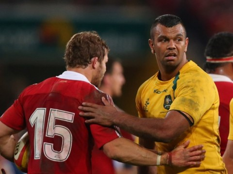 Australia's Kurtley Beale and James O'Connor snapped out with fans at 3:50am ahead of Lions clash