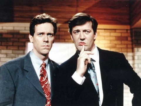 Hugh Laurie plots on screen reunion with Stephen Fry