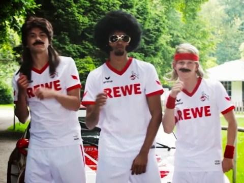FC Koln go all groovy with retro kit advert