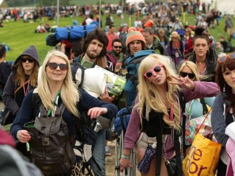 Gallery: Glastonbury Festival 2013 preparations