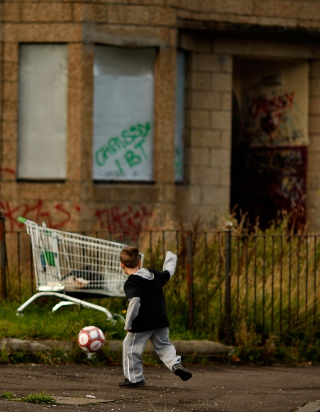 3.8m children in total poverty as families hit the 'tipping point'