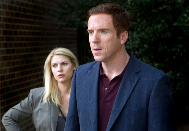 """Television Programme: Homeland. Claire Danes as Carrie Mathison and Damian Lewis as Nicholas """"Nick"""" Brody.  in Homeland (Season 2, Episode 7). - Photo: Kent Smith/SHOWTIME - Photo ID:  Homeland_207_4634"""