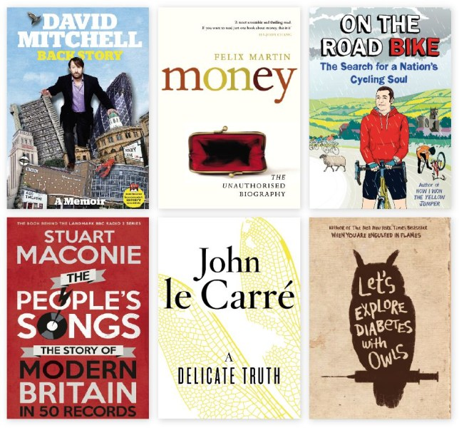 A selection of books for dad this Sunday (Picture: supplied)