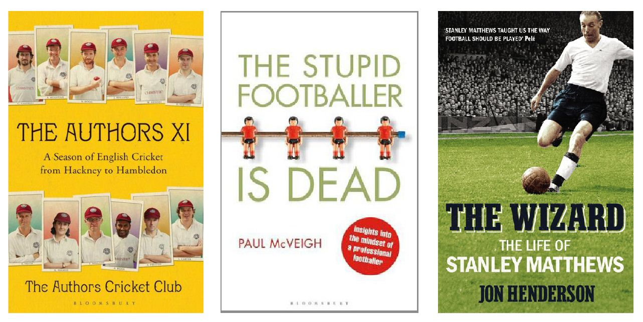 From The Authors XI to Stanley Matthews: Sport books to try