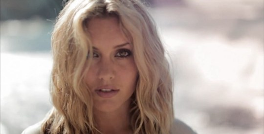 Caggie Dunlop in Neverland video