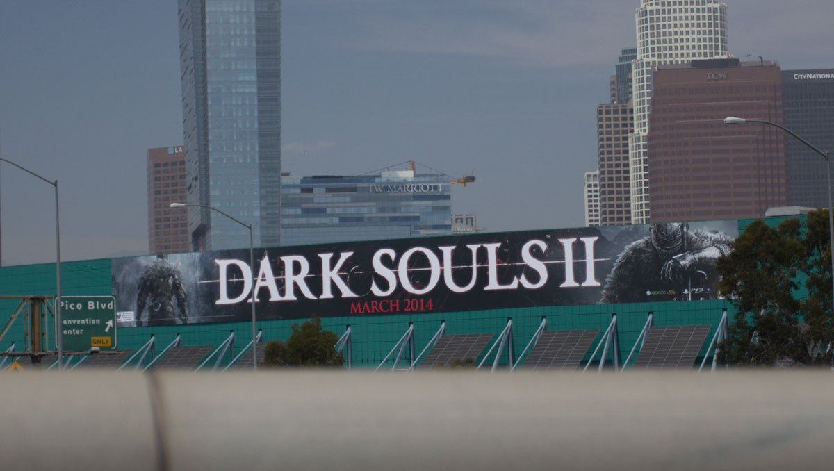 Dark Souls II due March 2014, according to E3 posters