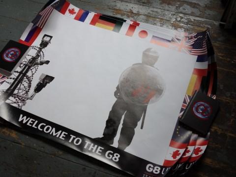 Gallery: G8 summit 2013 art