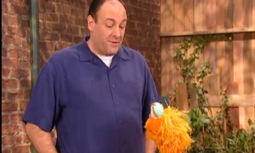 Sesame Street add to James Gandolfini tributes with video of actor's guest appearance