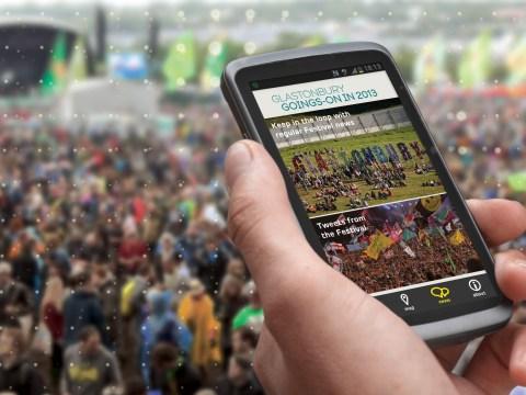 Glastonbury app goes live