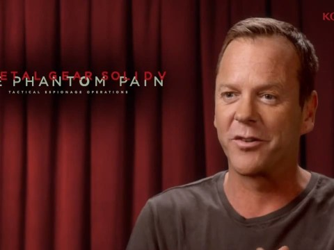 Kiefer Sutherland is voice of Snake in Metal Gear Solid V