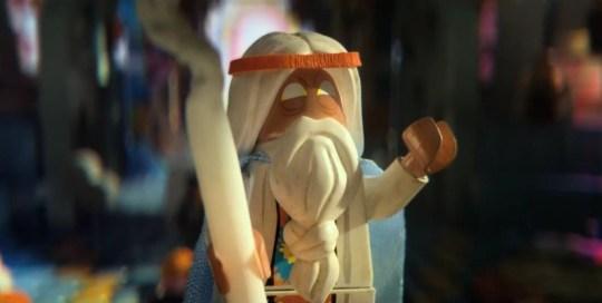 The Lego Movie Watch Morgan Freeman As A Lego Man In First Trailer Metro News