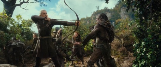 Orlando Bloom is back as Legolas (Picture: Warner Bros)