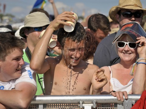 Top tips to survive a sunny Glastonbury Festival