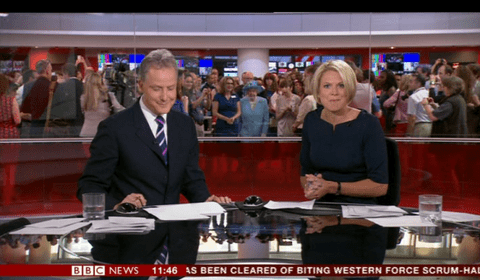 The day the BBC gave up telling the news