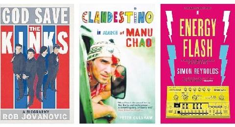 God Save The Kinks, Clandestino and Energy Flash: Music book reviews