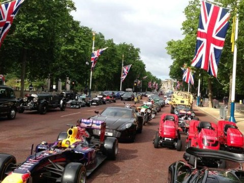 Jeremy Clarkson tweets 'most ambitious' Top Gear photos