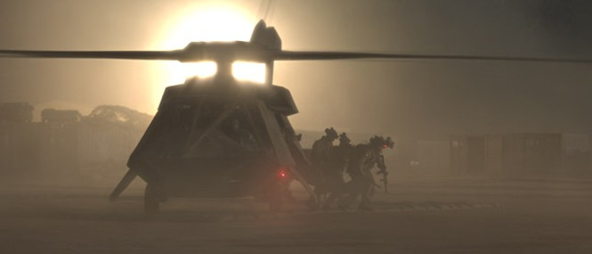 Zero Dark Thirty stealth helicopter