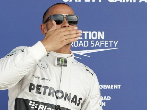 Lewis Hamilton provokes Twitter taunts with bizarre American accent after winning Hungarian Grand Prix