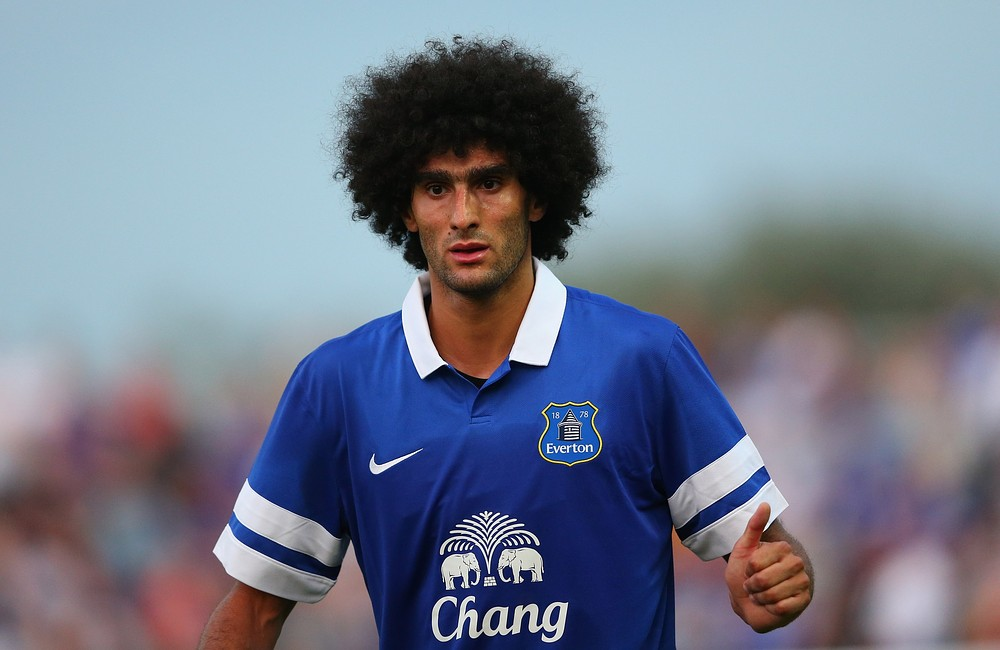 Everton's Marouane Fellaini moves closer to Manchester United deal