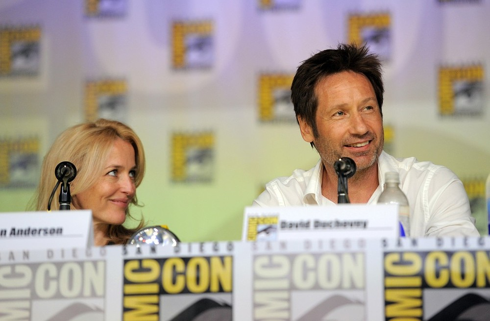 Gillian Anderson declares herself up for new X-Files movie at Comic Con