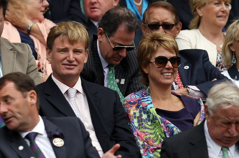 Wimbledon 2013: Jack Nicklaus and Ernie Els swap fairways for the Royal Box