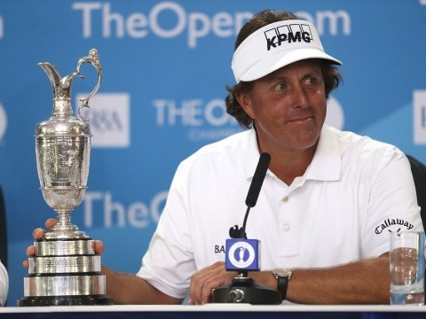 The Open 2013: 'I won with the best round of my career', says Phil Mickelson