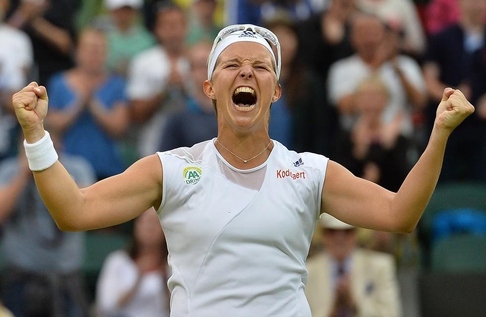 Wimbledon 2013: Kirsten Flipkens reaches her first semi-final 12 months after failing to qualify