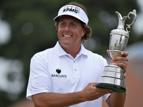 Phil Mickelson eyes grand slam fast plan to join golf's greatest