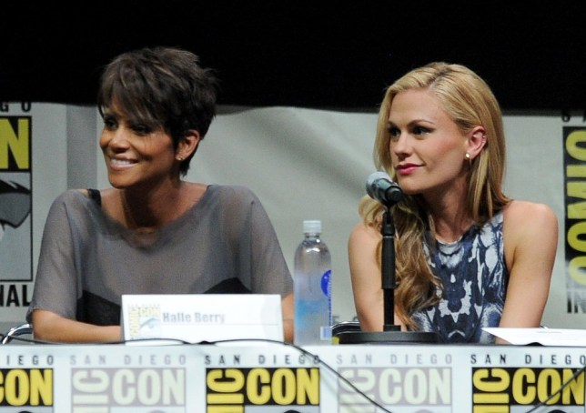 Halle Berry at Comic Con