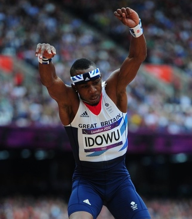 Leap of faith: Idowu is taking a rest from competing (Picture: PA)