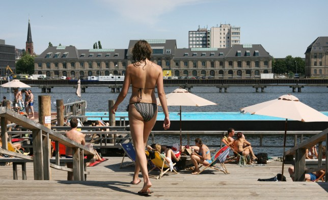 Berlin's Badeschiff also featured on the list (Picture: Getty)