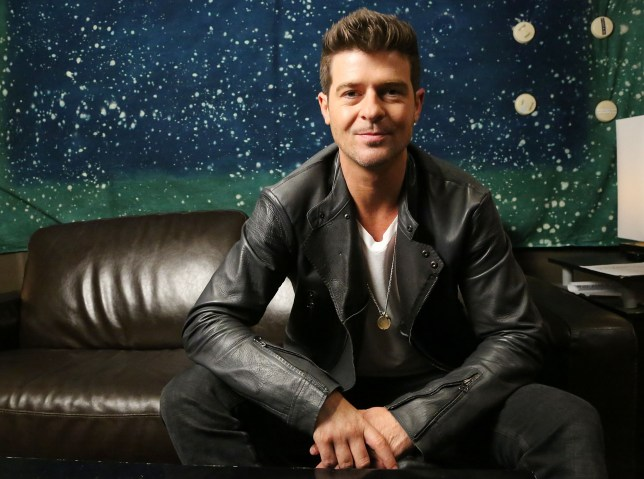 Robin Thicke has spent more than £320,000 on weed (Picture: Getty)