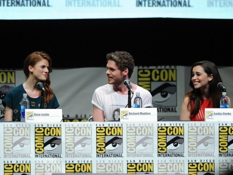 Game of Thrones character returns from the dead at Comic-Con to surprise Emilia Clarke