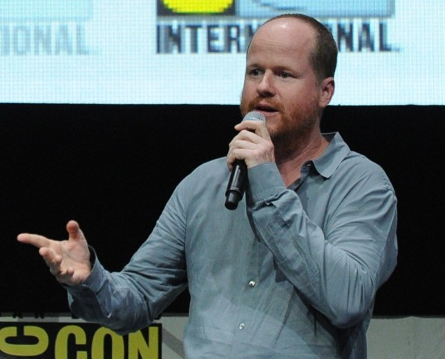 Joss Whedon introduced an Avengers 2 video (Picture: Getty)