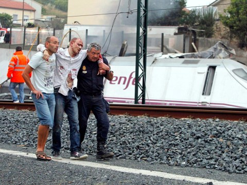 Spain in mourning after deadliest train crash in 40 years as footage of accident emerges