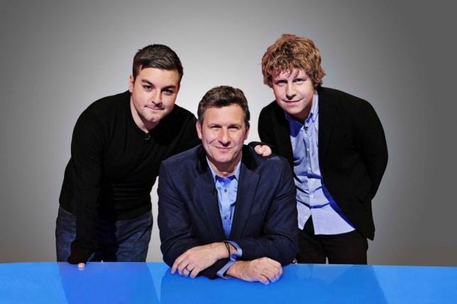 TELEVISION PROGRAMME: THE LAST LEG (Left to right) Alex Brooker, Adam Hills, Josh Widdicombe