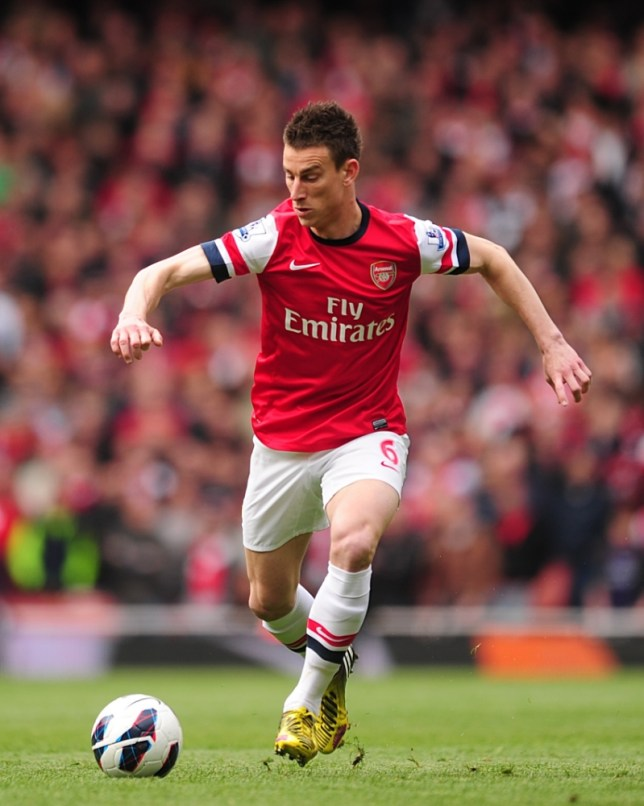 File photo dated 28/04/2013 of Laurent Koscielny, Arsenal. PRESS ASSOCATION Photo. Issue date: Tuesday June 25, 2013. Defender Laurent Koscielny has again reaffirmed his commitment to Arsenal - and believes the Gunners can use their superb end to last season as a springboard for success in 2013/2014. See PA story SOCCER Arsenal. Photo credit should read: Adam Davy/PA Wire.