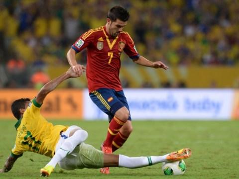 Tottenham beaten to David Villa signing by late Atletico Madrid move