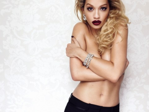 Naked Rita Ora admits she's 'definitely falling' for Calvin Harris